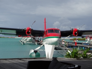 Air taxis in front of W 'way station'