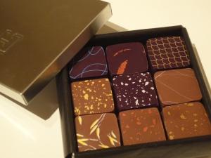 A tin of delicious chocolates