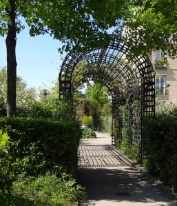 Archway on promenade