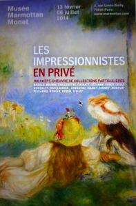 Poster: Les Impressionnistes en privé