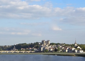 Château de Saumur from the bridge