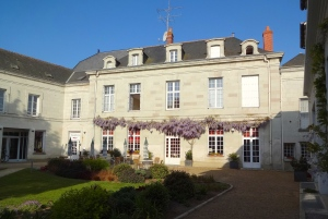 Courtyard of Domaine de la Blairie