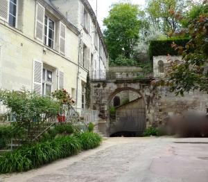 Courtyard in Saumur