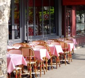Restaurant along Rue de la Butte aux Cailles