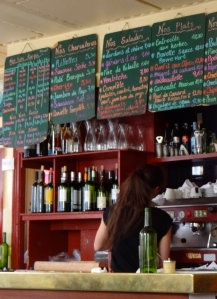 The bar at Chez Gladines