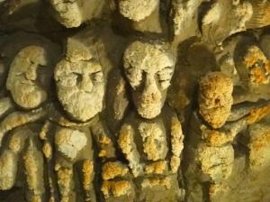 Sculptures deteriorating