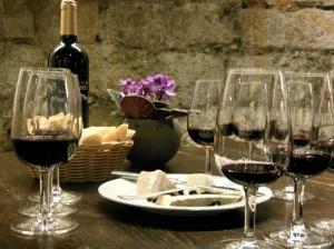 Wine tasting at Musée du Vin