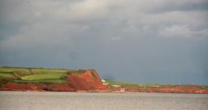 English coastline heading to Penzance