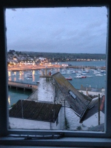 View of the harbor from the 3rd floor bedroom