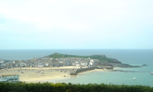 A hazy day in St Ives