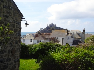 View of St Michael's Mount from the Friends Meeting House