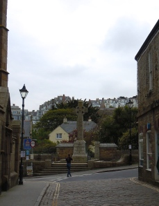 Winding street in St Ives
