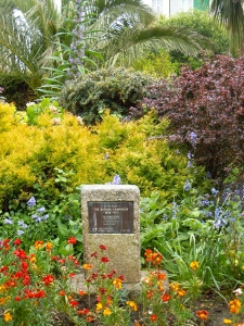 A war memorial garden in St Ives