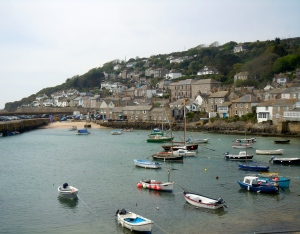 Mousehole's inlet