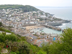 Mousehole from above (Photo by Mark L. Stine)