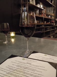Wine a dinner at Thomas Hill Organics