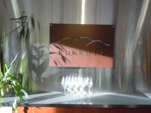 Wine tasting at Kukkula Vineyards